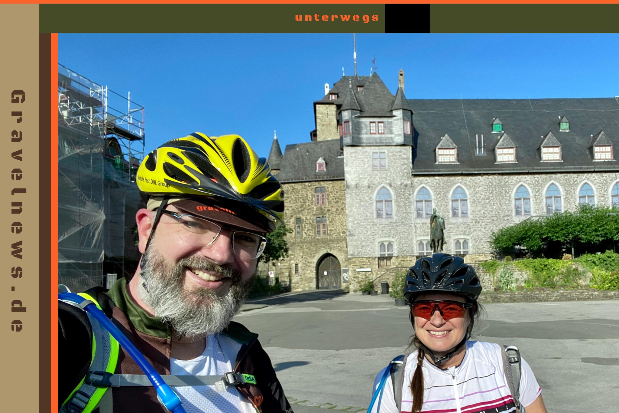 Familienausflug zu Schloß Burg